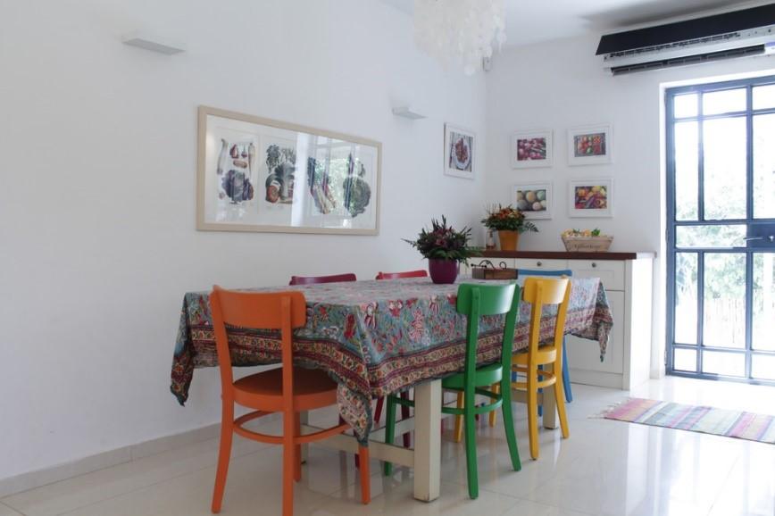 Sillas Comedor Colores. Simple Mesa De Comedor Fija Color Roble ...