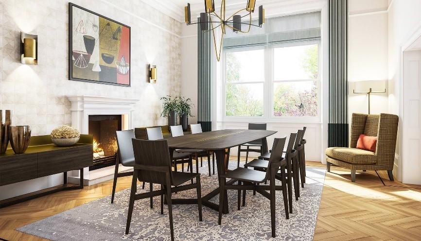 Gu a para elegir la mesa perfecta para tu comedor casa for Interior design pr agency london