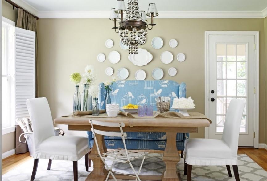 10 diferentes maneras de mezclar sillas en tu comedor casa muebles muebles enseres - Comedor con banca ...