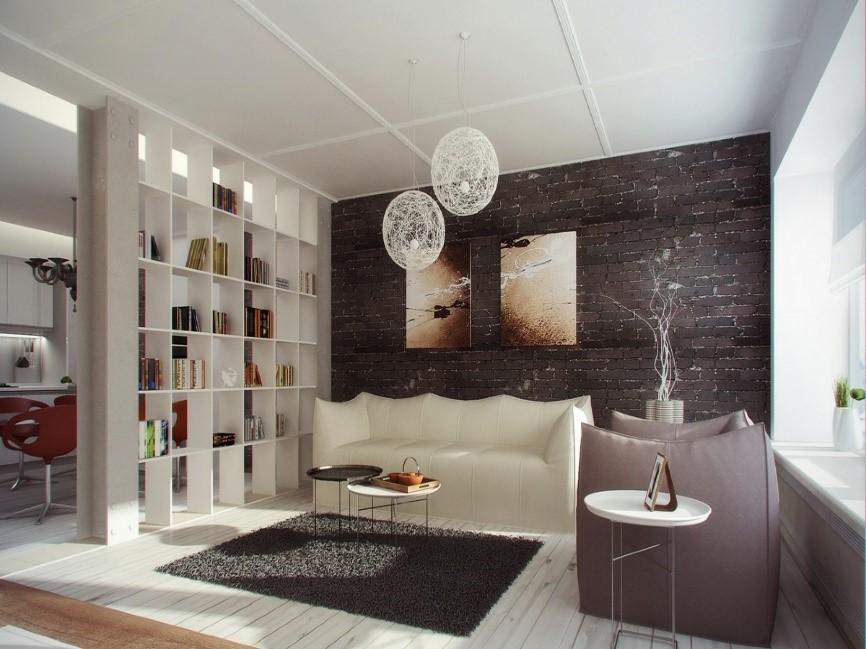 Vida en plano abierto divide tus espacios con estilo - Decoracion espacios abiertos ...