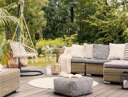 3 razones por qué usar muebles de exterior en el interior