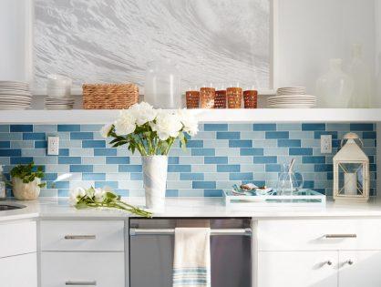 7 elegantes maneras de agregar color a tu cocina